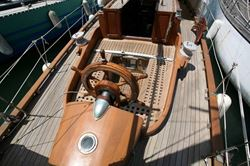 Chanter de la Liane 57 Ft Classic Marseille Yawl (wood) - click to enlarge
