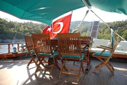 Custom Built Traditional Turkish Gulet 25m (Wood) - click to enlarge