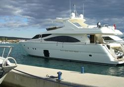 Ferretti 830 HT - click to enlarge