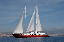 Elthom Perama Twin Screw - Motor Sailer 50' - click to enlarge